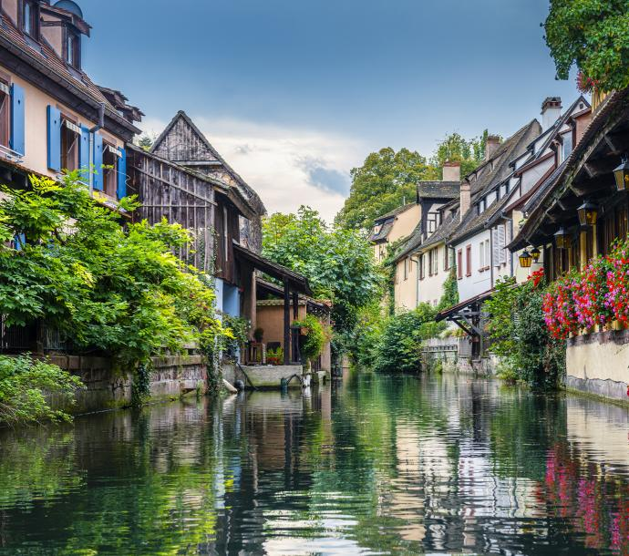 Colmar – picturesque town on the river