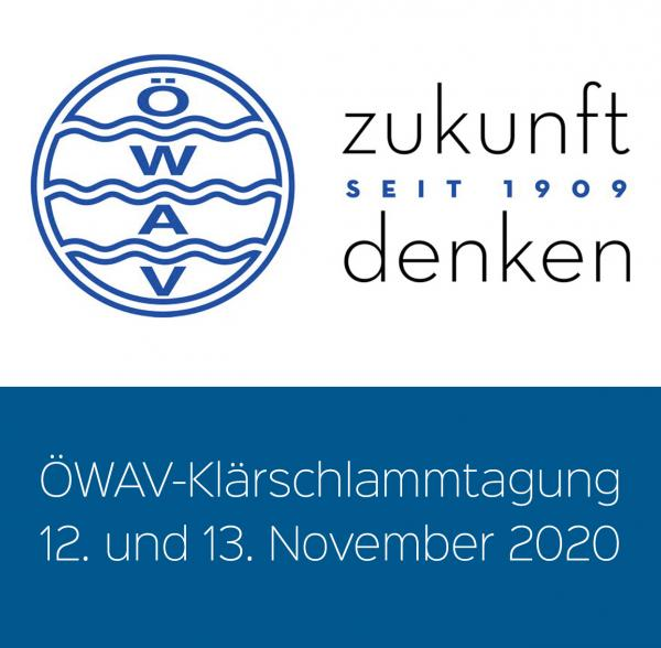 Austria Waste and Water Management Federation (ÖWAV) Sewage Sludge Conference 2020